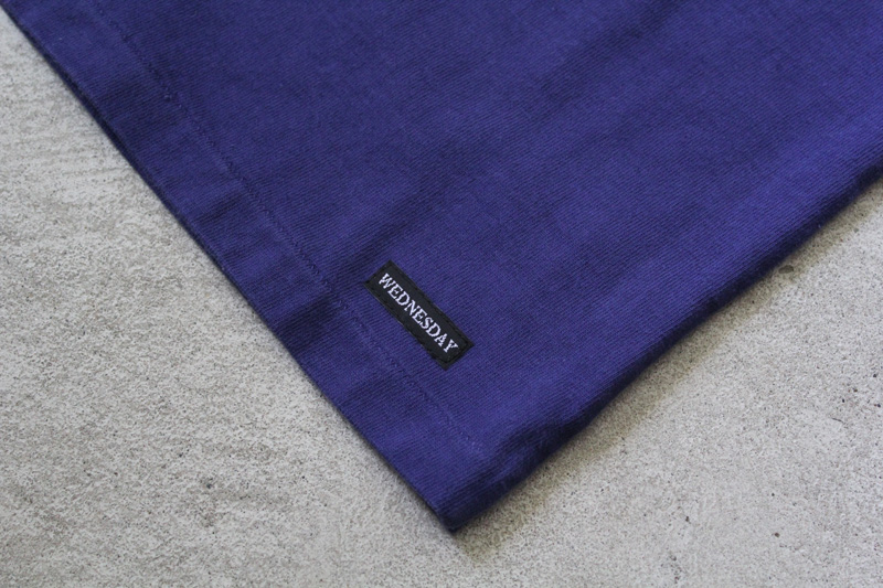Daily-Wardrobe-Industry|7days-Crew-Neck-Pocket-Tee|Blue【1】