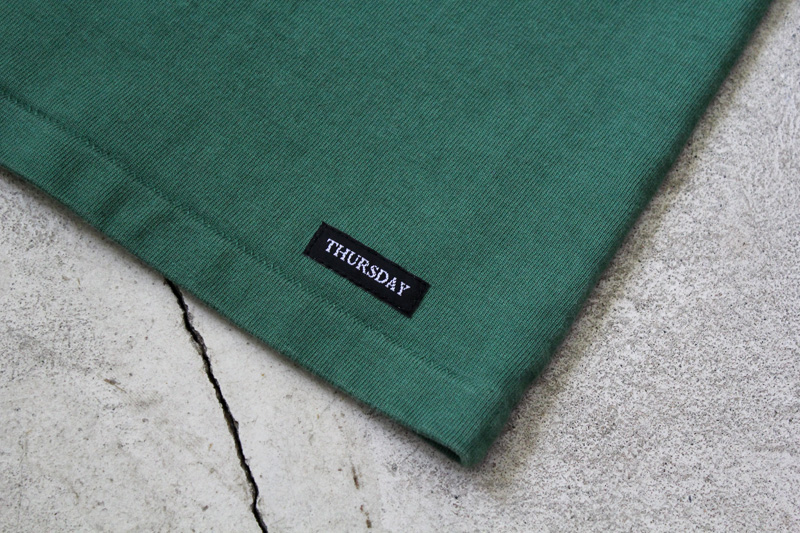 Daily-Wardrobe-Industry|7days-Crew-Neck-Pocket-Tee|Green【1】diariesblog