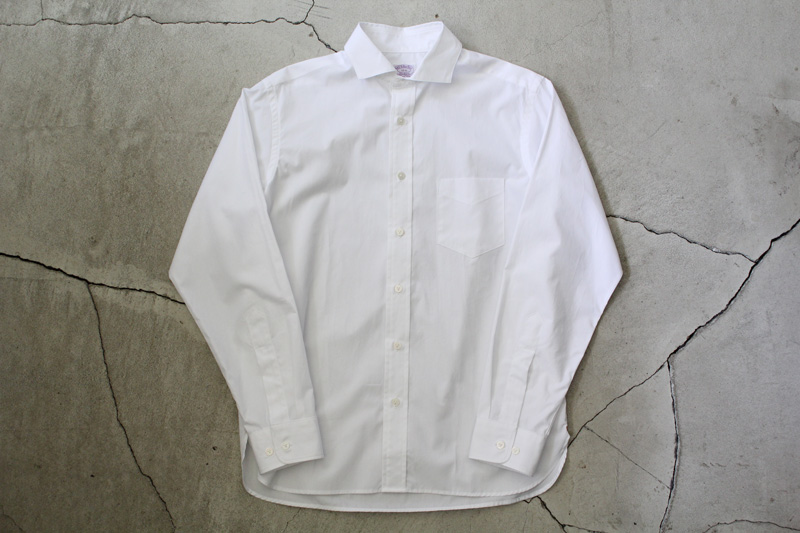 WORKERS|Widespread-Collar-Shirt|White【★】diaries-blog