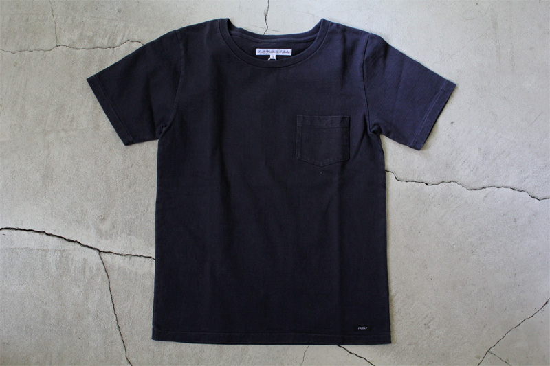 Daily-Wardrobe-Industry|7days-Crew-Neck-Pocket-Tee|Black【★】