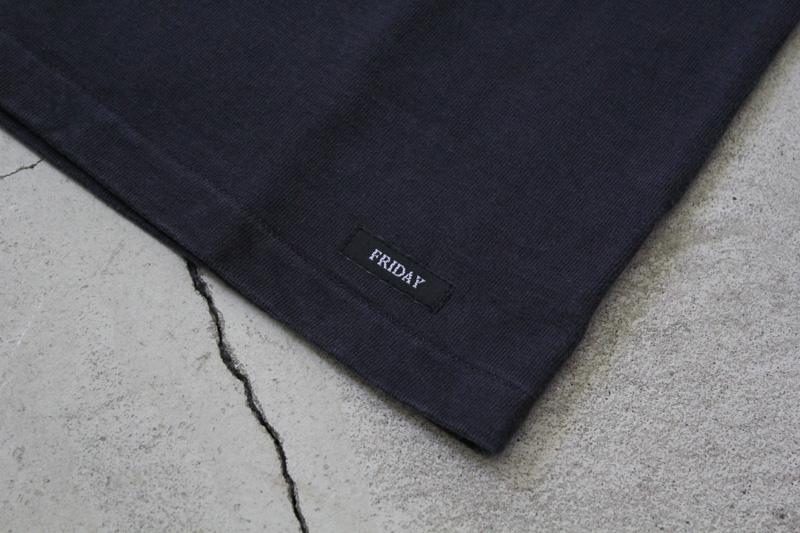 Daily-Wardrobe-Industry|7days-Crew-Neck-Pocket-Tee|Black【1】