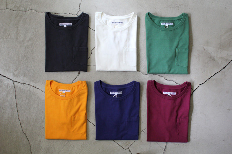 Daily-Wardrobe-Industry|7days-Crew-Neck-Pocket-Tee|Black【2】
