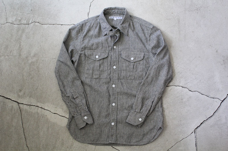 Daily Wardrobe Industry|Daily Work Shirt|Stripe【diaries-blog1】