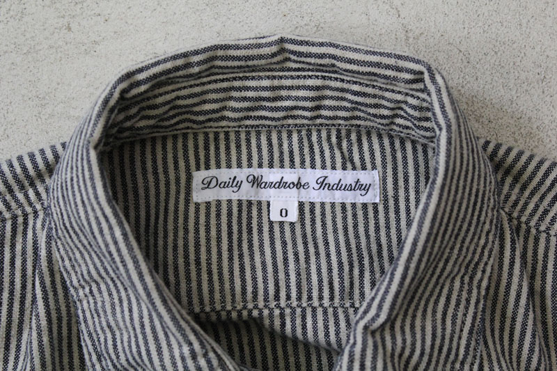 Daily Wardrobe Industry|Daily Work Shirt|Stripe【diaries-blog2】