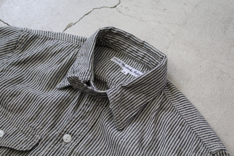 Daily Wardrobe Industry|Daily Work Shirt|Stripe【diaries-blog3】