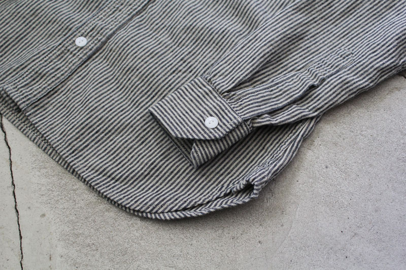 Daily Wardrobe Industry|Daily Work Shirt|Stripe【diaries-blog4】