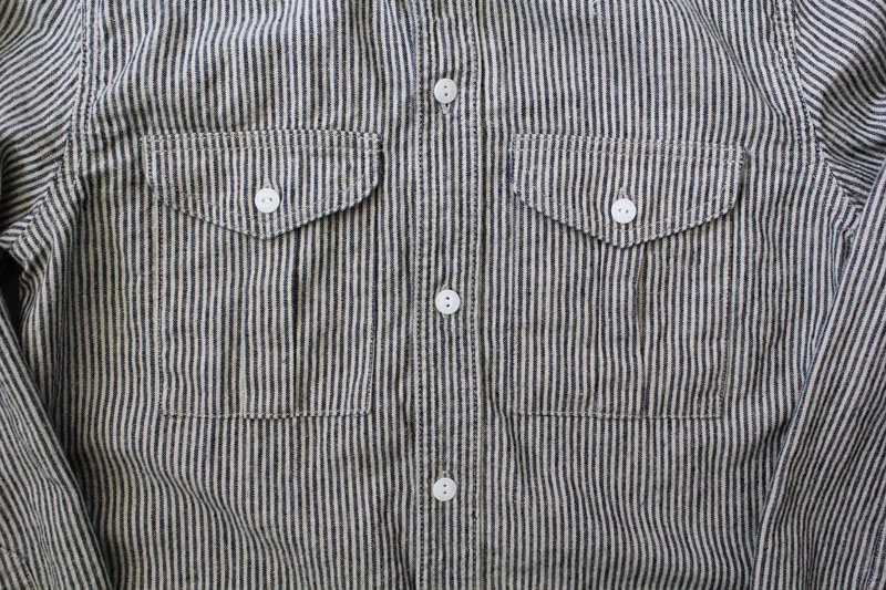 Daily Wardrobe Industry|Daily Work Shirt|Stripe【diaries-blog5】