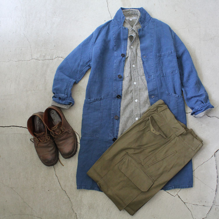 Daily Wardrobe Industry|Daily Work Shirt|Stripe【diaries-blog8】