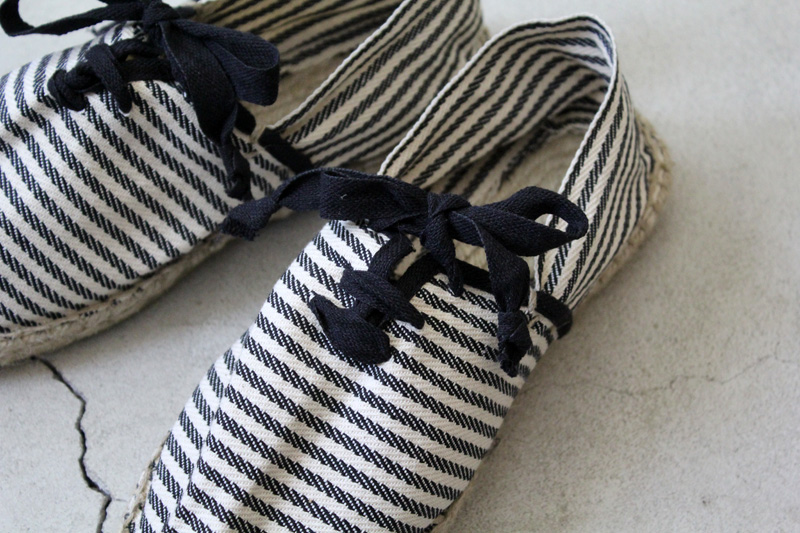 Don-Quichosse|Espadrille-Tuilliere|Stripe【diaries-blog2】