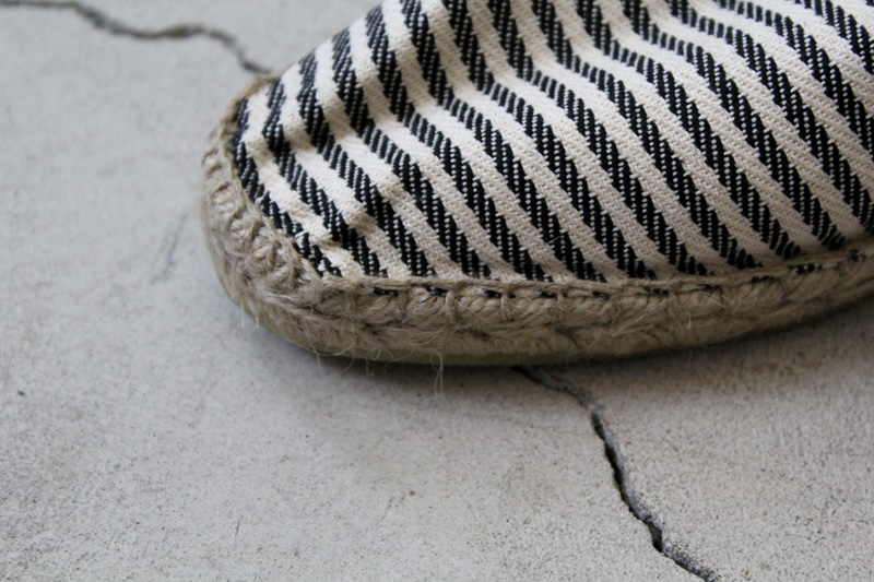 Don-Quichosse|Espadrille-Tuilliere|Stripe【diaries-blog3】