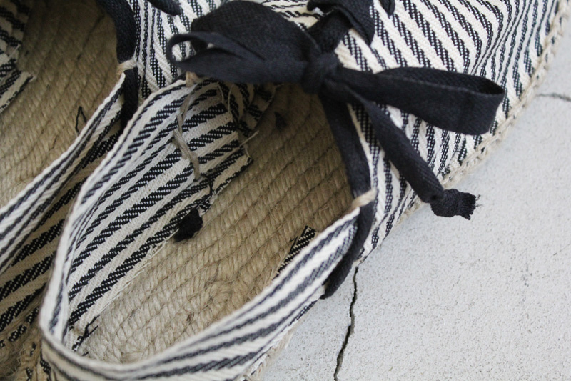 Don-Quichosse|Espadrille-Tuilliere|Stripe【diaries-blog5】