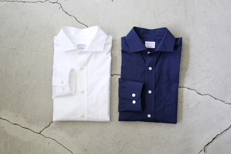 WORKERS|Widespread-Collar-Shirt|Indigo【★】diaries-blog