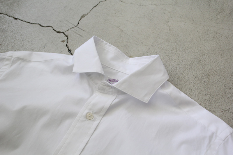 WORKERS|Widespread-Collar-Shirt|White【1】diaries-blog