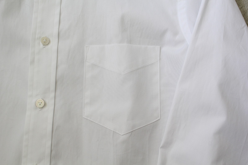WORKERS|Widespread-Collar-Shirt|White【4】diaries-blog